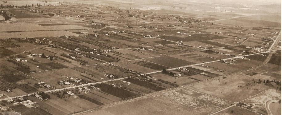 Central Valley Aerial Image ca 1930