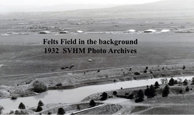 Felts Field 1932 Image