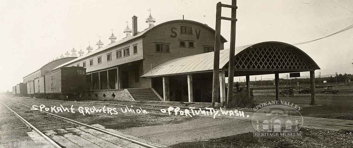 Spokane Valley Growers Union Building, Opportunity WA