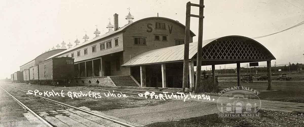Spokane Valley Growers Union Building, Opportunity WA