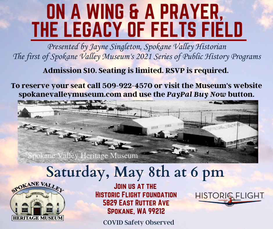Legacy of Felts Field Event