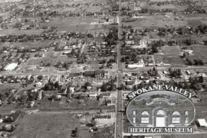 Aerial of Pines and Sprague roads