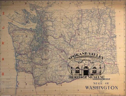 Old Map of Washington State