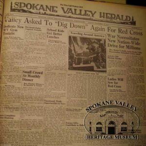 Spokane Valley Herald Newspaper 1941