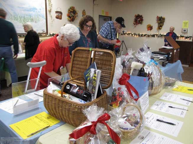 Heritage program silent auction gift basket