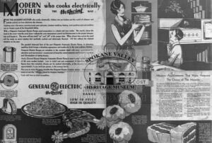 Vintage General Eclectic aid for Modern Mother who cooks electrically