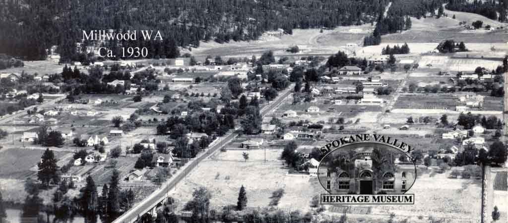 Aerial of Millwood Pasadena Park
